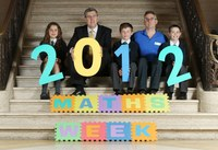 Maths Week 2012 Launch in Northern Ireland by Minister O'Dowd